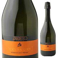 【6本〜送料無料】プロセッコ トレヴィーゾ エクストラ ドライ NV ザルデット 750ml [発泡白]Prosecco Treviso Extra Dry Zardetto