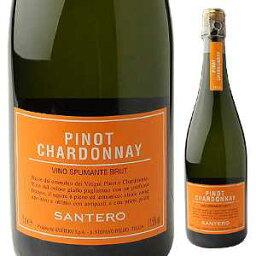 【6本?送料無料】ピノ シャルドネ スプマンテ NV サンテロ 750ml [発泡白]Pino Chardonnay Spmante Santero F.lli & C. S.p.a. [サクラアワード2016 ゴールド]