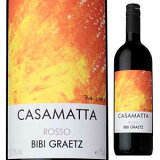 WS90分(件)2011复古!【6个?】kazamatta Rosso 2011 BB GrazCasamatta Rosso 2011 Bibi Graetz[意大利葡萄酒][【6本〜】カザマッタ ロッソ(スクリューキャップ) NV ビービー グラーツ(テスタマッタ) 750ml [赤]Ca