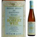 【6本〜送料無料】 [375ml]リースリング トロッケン Q.b.A 2013 ロバート ヴァイル [ハーフボトル][白]Riesling Trocken Q.b.A Weingut Robert Weil