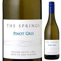 【6本?送料無料】ザ スプリングス ピノ グリ 2016 サザン バンダリー ワインズ 750ml [白]The Springs Pinot Gris Southern Boundary Wines [スクリューキャップ]