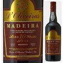 【6本〜送料無料】マデイラ 10年 スイート NV ペレイラ ドリヴェイラ 750ml [甘口マデイラワイン]Madeira 10 Year Old Sweet Pereira D..