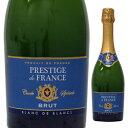 【6本〜送料無料】ヴァン ムスー プレステージ ド フランス ブリュット NV レ カーヴ ド ランディラ 750ml [発泡白]Vin Mousseux Prestige de France Brut Les Caves de Landiras