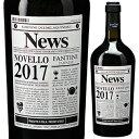 【6本〜送料無料】[N]ヴィーノ ノヴェッロ テッレ ディ キエティ 2017 ファルネーゼ 750ml [赤]Vino Novello Terre di Chieti Farnese [10月30日解禁]