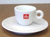 1客からご購入頂けます♪【6客〜】 イリー エスプレッソカップ&ソーサー イリー