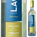 【6本〜送料無料】ラゴ ヴィーニョ ヴェルデ NV カルサダ 750ml [白]Lago Vinho Verde White Quinta Da Calcada [スクリューキャップ]