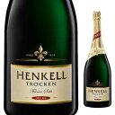 【6本〜送料無料】[8月21日(水)以降発送予定]トロッケン ドライ セック NV ヘンケル&カンパニー ゼクトケラライKG 3000ml [発泡白]Henkell Trocken Dry Sec Henkell & Co. Sektkellerei Kg[同梱不可]