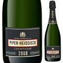【6本〜送料無料】ブリュット ヴィンテージ 2008 シャンパーニュ パイパー エドシック 750ml 白 Brut Vintage Champagne Piper-Heidsieck