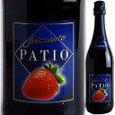 【6本〜送料無料】パティオフリッツァンテフラーゴラNVドネリ750ml[甘口発泡フレーバードワイン]PatioFrizzanteFragolaDonelli