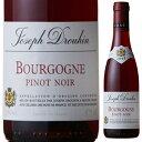 【6本~送料無料】 [375ml]ブルゴーニュ ピノ ノワール 2016 メゾン ジョゼフ ドルーアン [ハーフボトル][赤]Bourgogne Pinot Noir Maison Joseph Drouhin