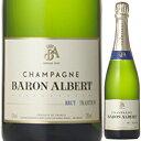 【6本~送料無料】シャンパーニュ ブリュット リュニヴェルセル NV バロン アルベール 750ml [発泡白]Champagne Brut L'universelle Baron Albert