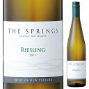 【6本~送料無料】ザ スプリングス リースリング 2018 アロハ ニュージーランド 750ml [白]The Springs Riesling Southern Boundary Wines [スクリューキャップ]