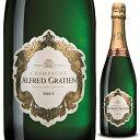 ショッピングシャンパン 【6本〜送料無料】シャンパーニュ ブリュット NV アルフレッド グラシアン 750ml [発泡白]Champagne Brut Alfred Gratien