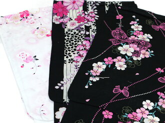 Women's yukata 1000 yen yukata yukata cute floral dress kimono kimono yukata set ladies retro store woman woman thing in the yukata belt Geta yukata 3 pieces staff available!