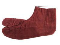 足袋【別珍・女性用】22.0〜25.0サイズ 4枚コハゼ さらし裏 メール便2足までOK