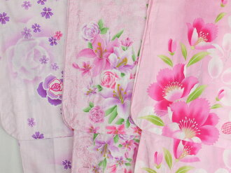 Dividing and non-cute 100% cotton kimono yukata Fireworks competitions dating dress