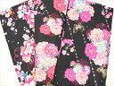 【子供用浴衣 140・150・160サイズ】ハイジュニア 女の子 綿100% ゆかた 花火大会 デート 着付け 可愛い メール便不可