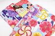 【二尺袖着物】Sサイズ 小学生 卒業式 ハイジュニア 13詣り 十三詣り 晴れ着 お祝い かわいい 中学生 女の子 女性 小さいサイズ ポリエステル ボタン ねじり梅 牡丹 蝶 メール便不可