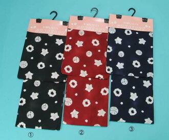 -Changed weave-aperture pattern yukata ( circle floral ) fs3gm