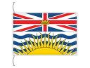 ブリティッシュコロンビア州の旗 カナダの州旗 卓上旗 旗サイズ16×24cm テトロントロマット製 日本製 世界各国の州旗シリーズ