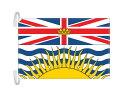 ブリティッシュコロンビア州の旗 カナダの州旗 Lサイズ 50×75cm テトロン製 日本製 世界各国の州旗シリーズ