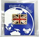 世界の国旗ピンバッジ(イギリス・サイズ:8×12mm)