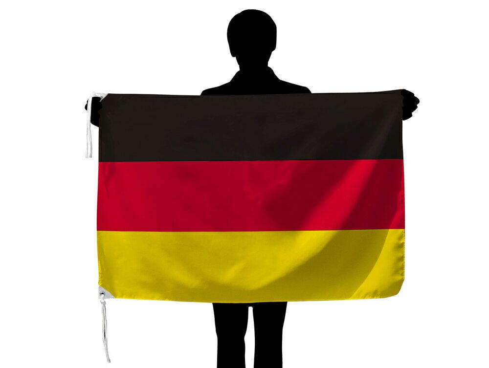 世界の国旗 ドイツ国旗[70×105cm・高級テトロン製]あす楽対応・安心の日本製