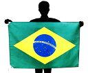 ブラジル国旗[70×105cm・ポリエステル100%]