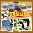 《日本製の色砂》カラーサンド1〜1.7mm粒/【Fタイプ/お好きな色を1色】5kg入り