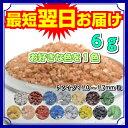 《日本製の色砂》カラーサンド1〜1.7mm粒/【Fタイプ/お好きな色を1色】6g入り