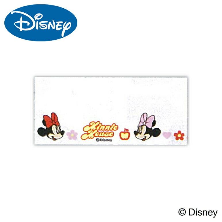 ディズニーミニーマウスネームテープ35×40cmワッペンアイロン名札手芸用品刺しゅう刺繍手作りアップ