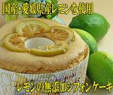 無添加シフォンケーキ★レモンのシフォンケーキ【マラソンP10】