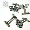 ※英国伝統ピューター工芸製品※上品で気高さのあるアンティーク仕上げのカフス/AEW社・英国製...