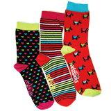 用【英国设计】全部以花样差异3个1双变成的袜子一套6图形能享乐!/嗯do袜子?Scottle—[【英国デザイン】全て柄違い3本で1足の変わった靴下ワンセットで6パターン楽しめます!/オッドソックス?スコッティー]