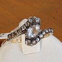 珠宝, 饰品(女士用) - アンティークジュエリー ダイヤモンドゴールドリング
