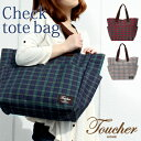 Product made in check tote bag / Japan