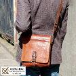 OXiDe スクエアショルダーバッグ /男性用 メンズ/斜めがけバッグ/レザーバッグ/A5 iPad mini/革 本革 馬革/鞄 かばん バッグ/ホースレザー/イタリア製/ヴィンテージ/ 【楽ギフ_包装】