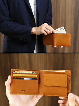 GloveLeatherCollection-ClassicSeries- 二つ折り財布
