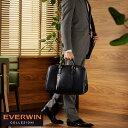EVERWIN 2wayボストンバッグ /男性用 メンズ/ボストンバッグ/日本製/旅行/1泊 2泊/2way/ショルダー/合皮/鞄 かばん バッグ/