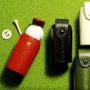 ゴルフ ボールホルダー ゴルフ 本革ボールケース 2個用 ベルト通し付き ゴルフ ボールホルダー 革 牛革 レザー ギフト