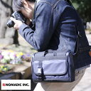 楽天メンズバッグ専門店 紳士の持ち物NOMADIC ノーマディック 撥水カメラショルダーバッグ 5L 男性用 メンズ カメラバッグ 一眼レフ ショルダー ミラーレス ナイロン 鞄 かばん バッグ