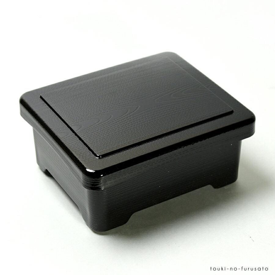 [TA]耐熱丼重新木目黒内朱(重箱サイズ幅168cmx143cm高さ78cm)合成漆器/うな重/重箱