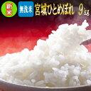 令和元年 宮城県産 ひとめぼれ 無洗米9kg【無洗米】【米】【dp】