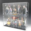 アクリル透明コレクションラック W450×H300×D200 引き戸タイプコレクションボード アクリルボックス クリアケース(アクリル ケース コレクション ボ...