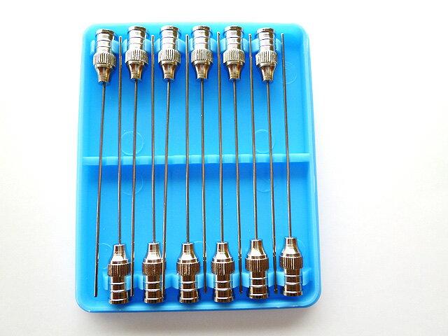 ガラス注射器専用注射針(長さ50mm)-12本セット(針 注射針 注射器 ガラス アクリル…...:toumeikan:10006890