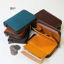 m+ エムピウ コンパクト財布 サイフ ゾンゾ m+ zonzo 小さい財布 ラウンドファスナー エムピウ 送料無料