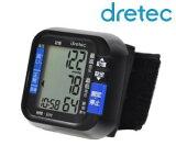 ドリテック(DRETEC) デジタル自動血圧計 手首式 コンパクト・簡単操作【RCP】 BM-100BK