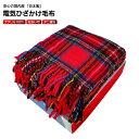 【送料無料】電気毛布 電気ひざ掛け毛布 ふっくら柔らかい暖か...