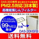 【送料無料】【日本製】PM2.5対応高機能集じんフィルター プラズマイオンUV加湿脱臭機(PLAZION)富士通ゼネラル DAS-303E・DAS-303D・..