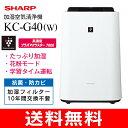 KC-G40(W)【送料無料】SHARP スピード循環気流搭...